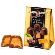 Turron Chocolates (Bombon Corazon Turron) from Spain